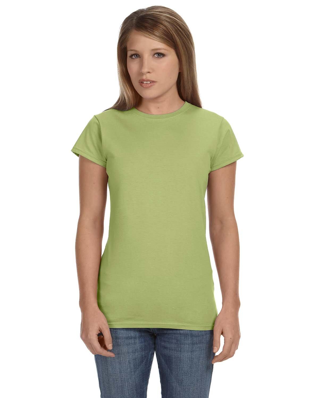 Gildan Ladies' Softstyle® 4.5 oz Fitted T-Shirt KIWI