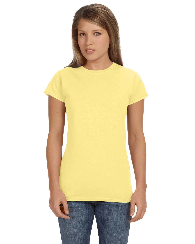 Gildan Ladies' Softstyle® 4.5 oz Fitted T-Shirt CORNSILK