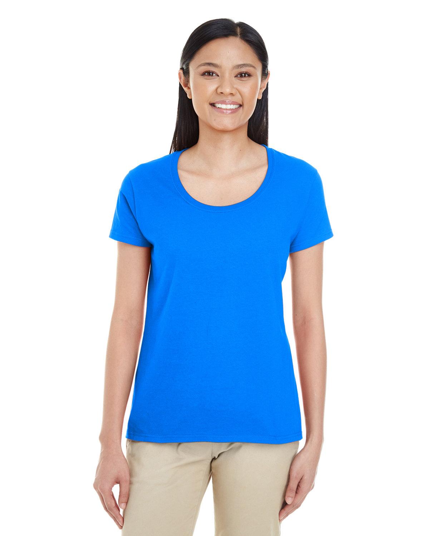 Gildan Ladies' Softstyle® Deep Scoop T-Shirt ROYAL