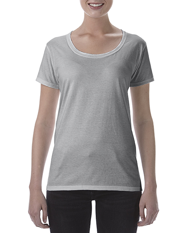 Gildan Ladies' Softstyle® Deep Scoop T-Shirt RS SPORT GREY