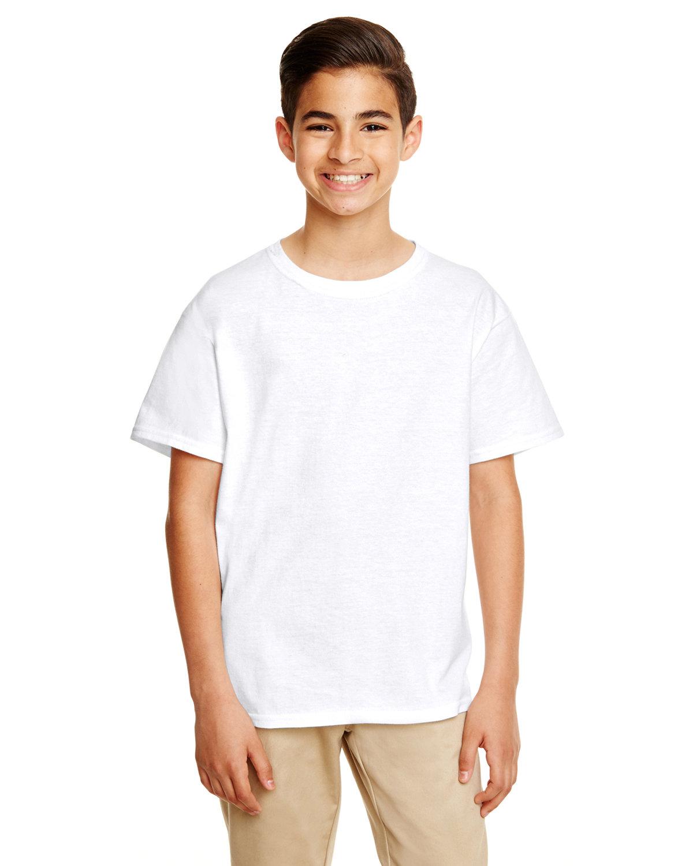 Gildan Youth Softstyle® 4.5 oz. T-Shirt WHITE