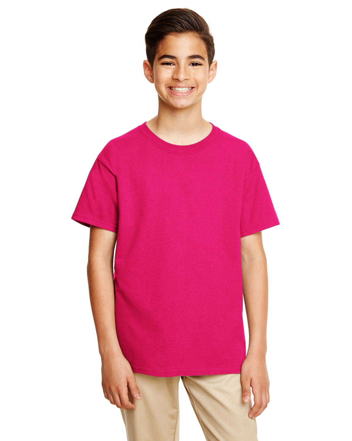 Gildan Youth Softstyle® 4.5 oz. T-Shirt HELICONIA