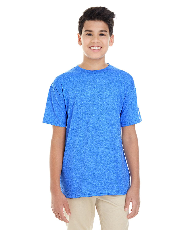 Gildan Youth Softstyle® 4.5 oz. T-Shirt HEATHER ROYAL