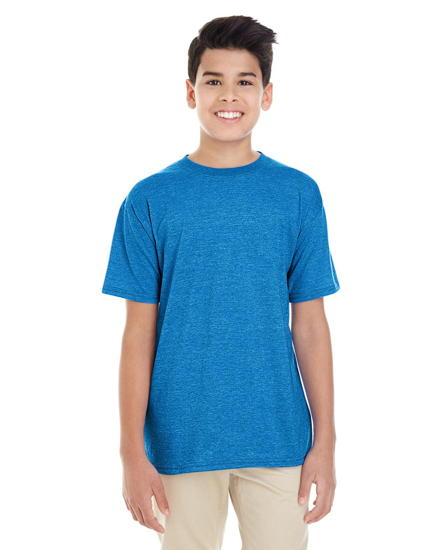 Gildan Youth Softstyle® 4.5 oz. T-Shirt HEATHER SAPPHIRE