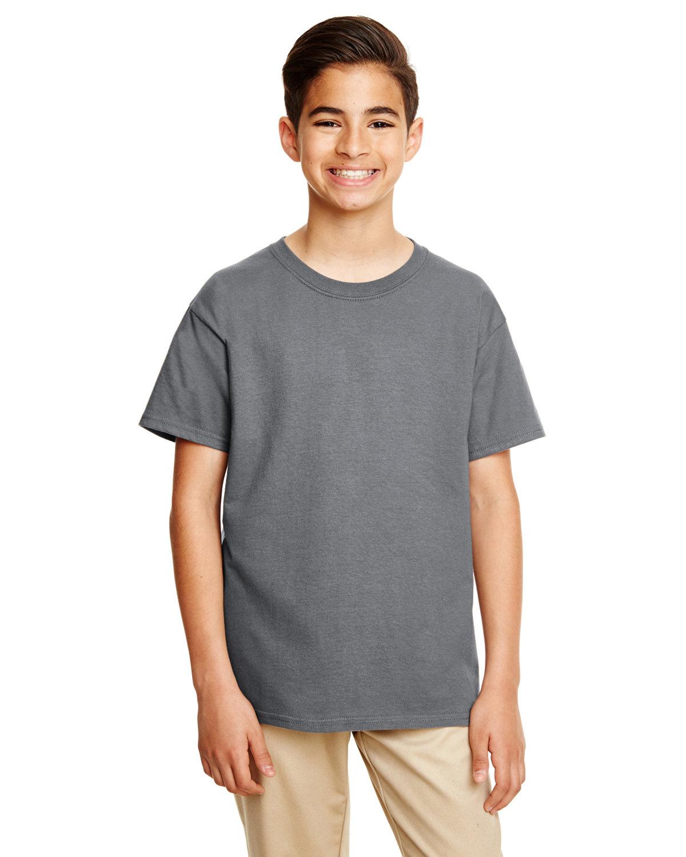 Gildan Youth Softstyle® 4.5 oz. T-Shirt CHARCOAL
