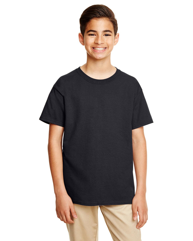Gildan Youth Softstyle® 4.5 oz. T-Shirt BLACK