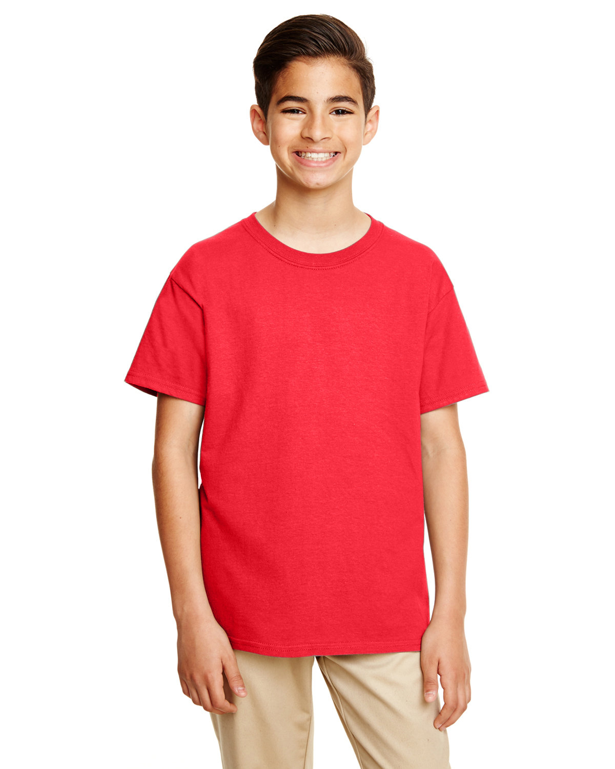 Gildan Youth Softstyle® 4.5 oz. T-Shirt RED
