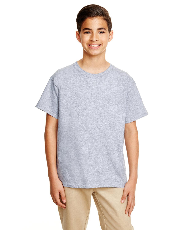 Gildan Youth Softstyle® 4.5 oz. T-Shirt RS SPORT GREY