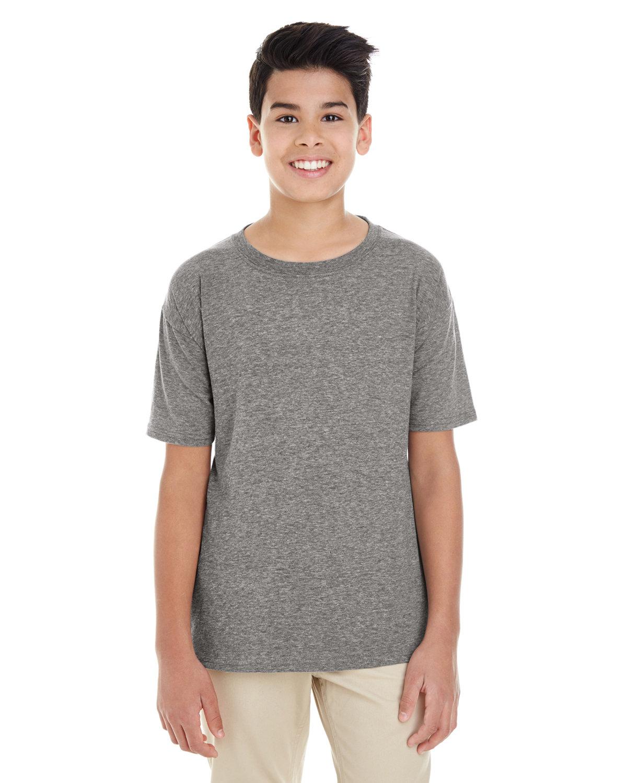 Gildan Youth Softstyle® 4.5 oz. T-Shirt GRAPHITE HEATHER