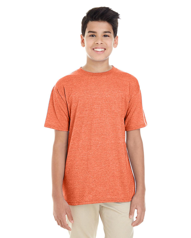 Gildan Youth Softstyle® 4.5 oz. T-Shirt HEATHER ORANGE