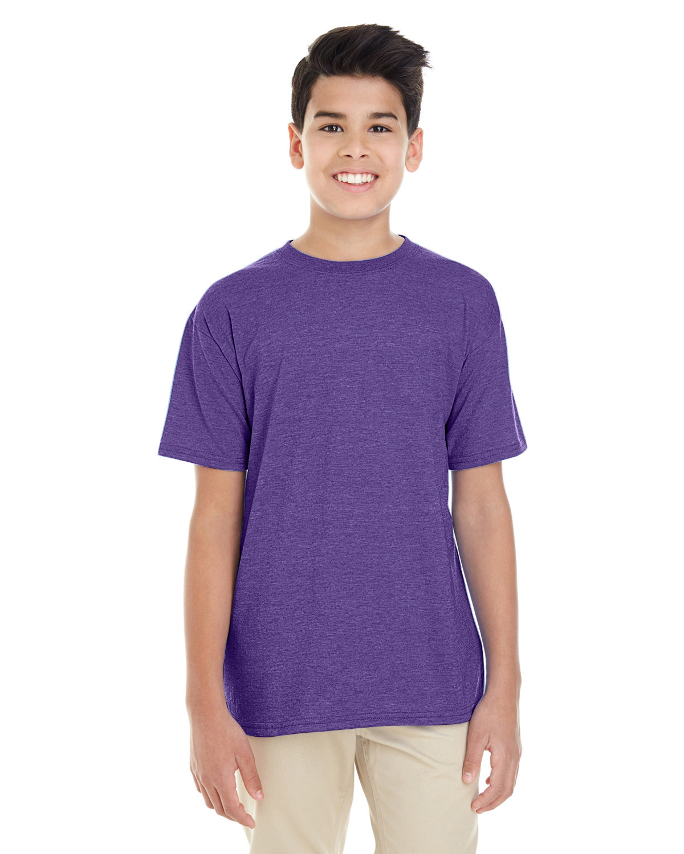 Gildan Youth Softstyle® 4.5 oz. T-Shirt HEATHER PURPLE