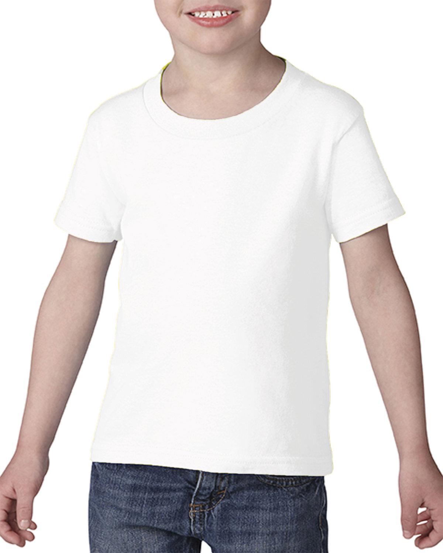 Gildan Toddler Softstyle® 4.5 oz. T-Shirt WHITE