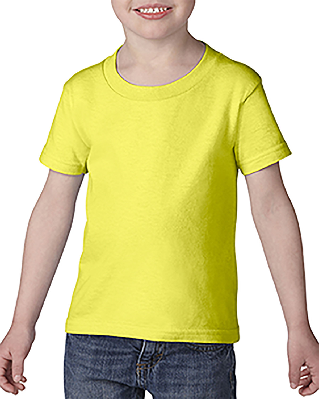 Gildan Toddler Softstyle® 4.5 oz. T-Shirt SAFETY GREEN