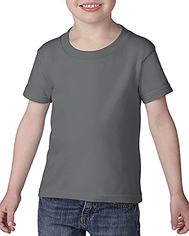 Gildan Toddler Softstyle® 4.5 oz. T-Shirt CHARCOAL