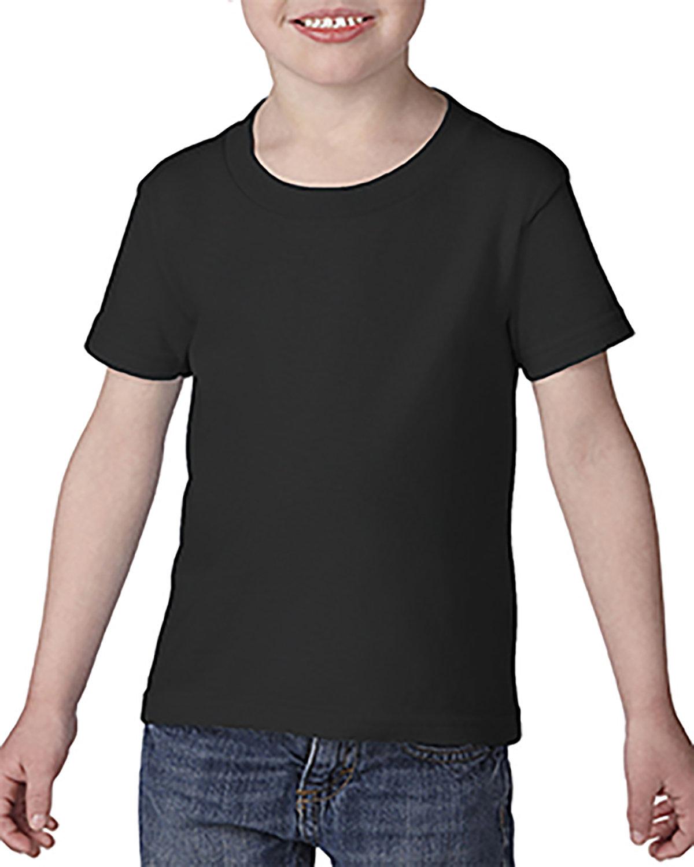 Gildan Toddler Softstyle® 4.5 oz. T-Shirt BLACK