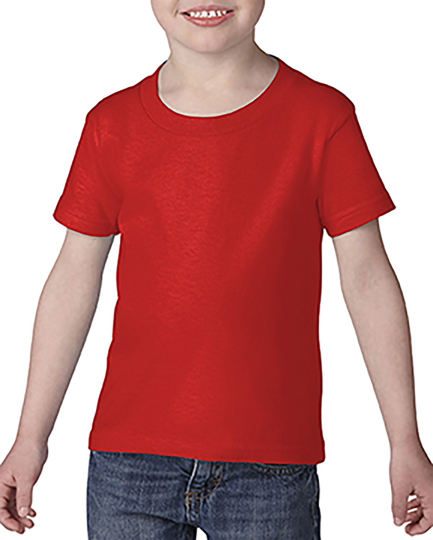 Gildan Toddler Softstyle® 4.5 oz. T-Shirt RED