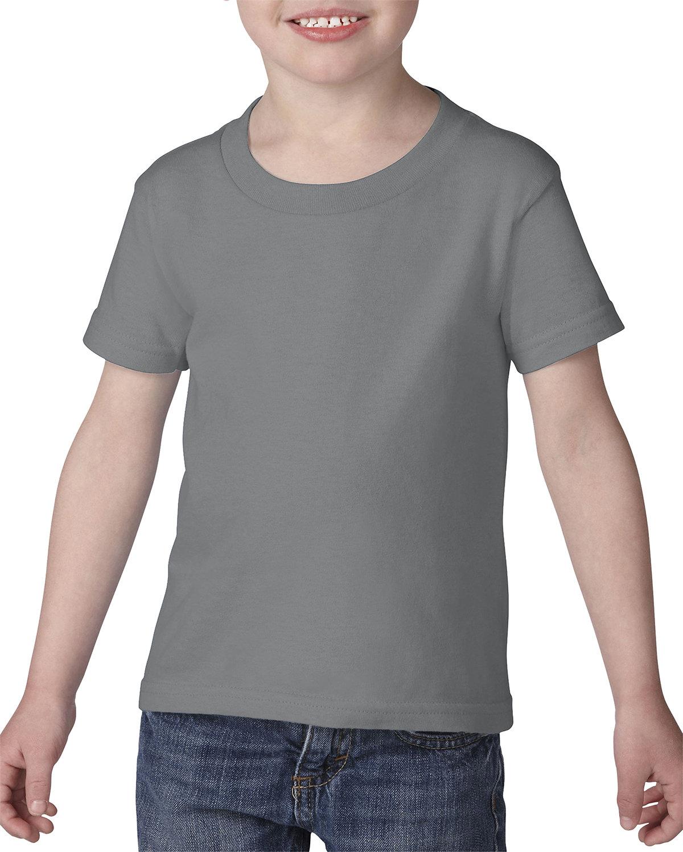 Gildan Toddler Softstyle® 4.5 oz. T-Shirt RS SPORT GREY