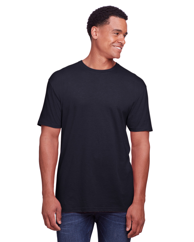 Gildan Men's Softstyle CVC T-Shirt NAVY MIST