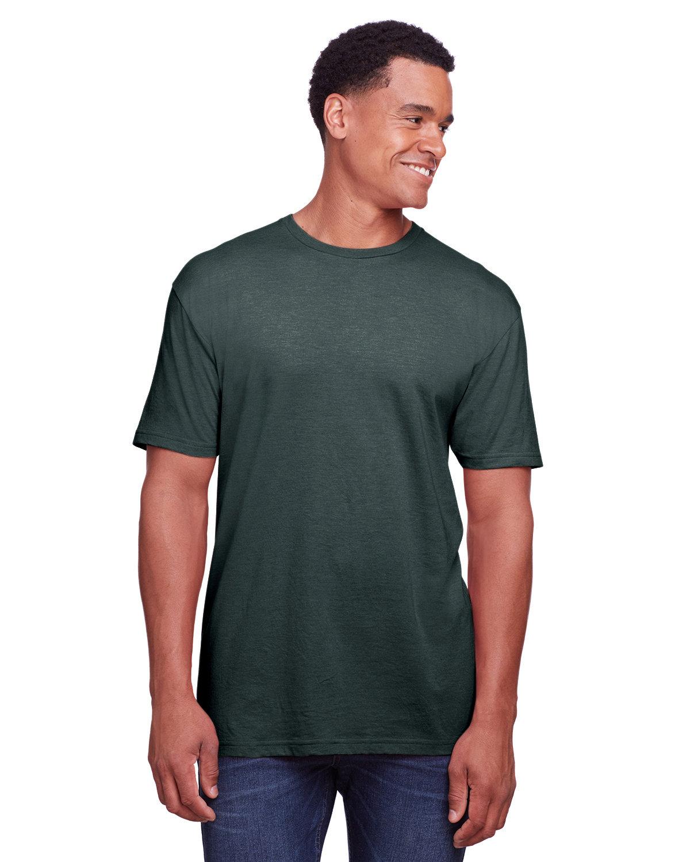 Gildan Men's Softstyle CVC T-Shirt STEEL BLUE