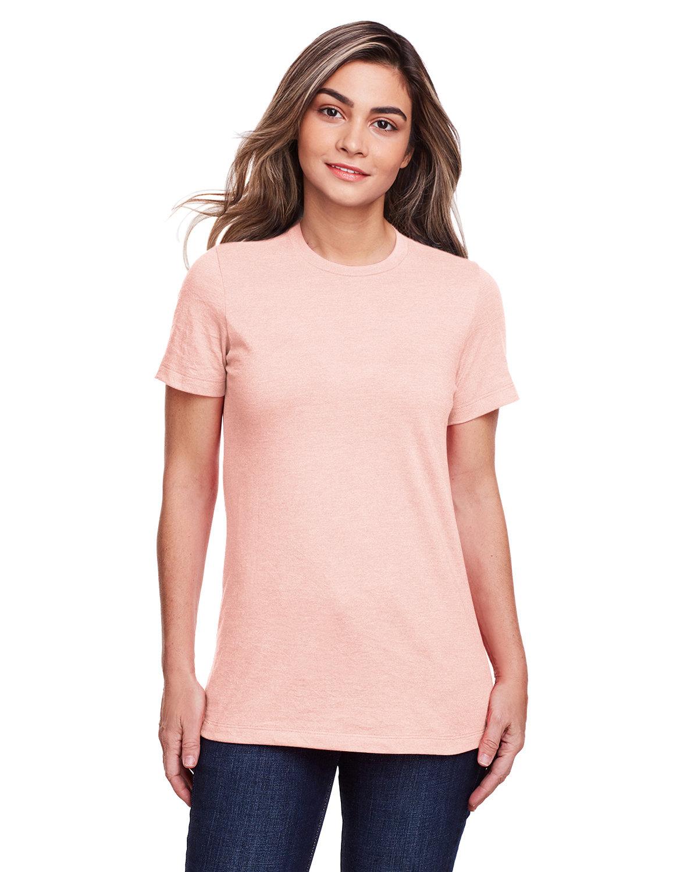 Gildan Ladies' Softstyle CVC T-Shirt DUSTY ROSE