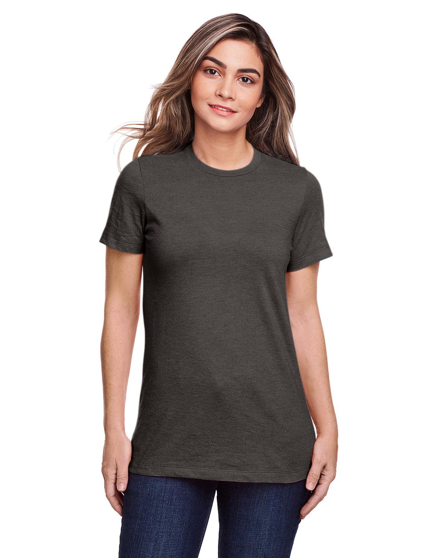 Gildan Ladies' Softstyle CVC T-Shirt GUNMETAL