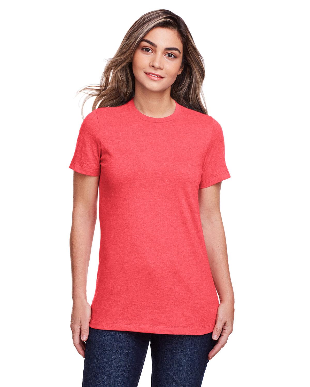 Gildan Ladies' Softstyle CVC T-Shirt RED MIST