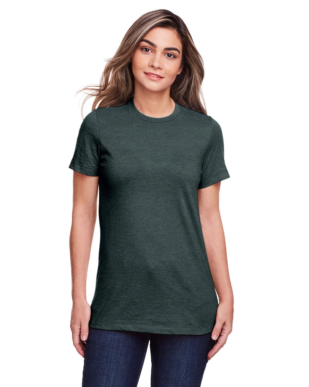 Gildan Ladies' Softstyle CVC T-Shirt STEEL BLUE