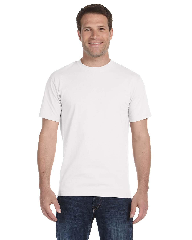 Gildan Adult 5.5 oz., 50/50 T-Shirt WHITE
