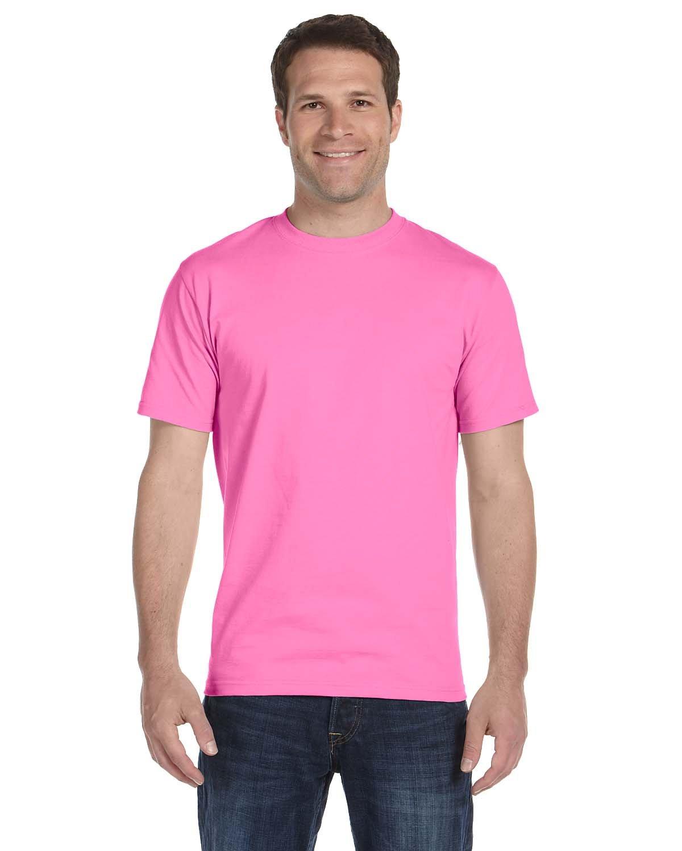 Gildan Adult 5.5 oz., 50/50 T-Shirt AZALEA