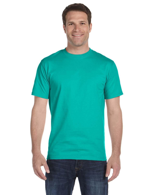 Gildan Adult 5.5 oz., 50/50 T-Shirt JADE DOME