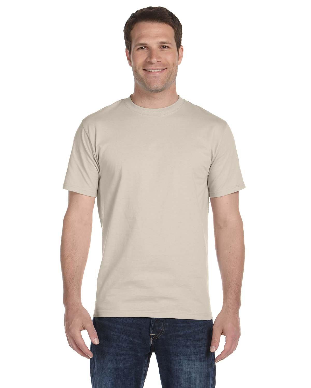 Gildan Adult 5.5 oz., 50/50 T-Shirt SAND