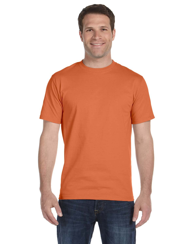 Gildan Adult 5.5 oz., 50/50 T-Shirt T ORANGE