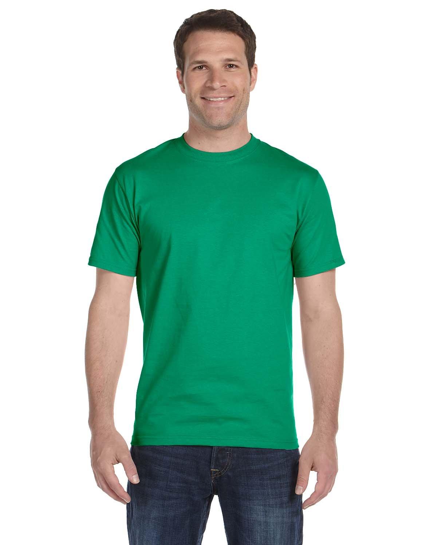 Gildan Adult 5.5 oz., 50/50 T-Shirt KELLY GREEN