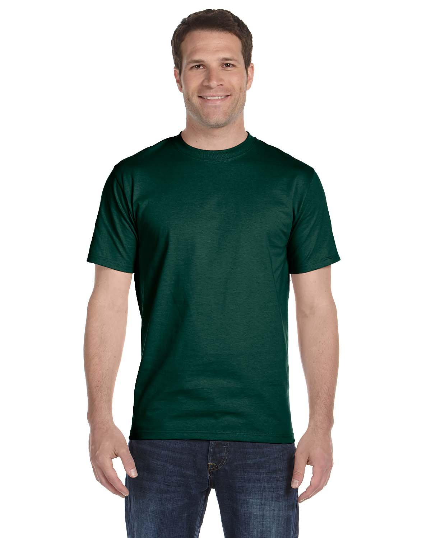 Gildan Adult 5.5 oz., 50/50 T-Shirt FOREST GREEN