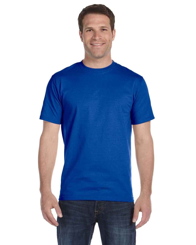 Gildan Adult 5.5 oz., 50/50 T-Shirt ROYAL