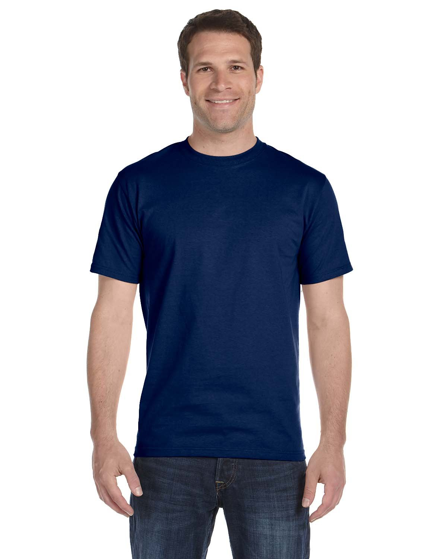 Gildan Adult 5.5 oz., 50/50 T-Shirt NAVY