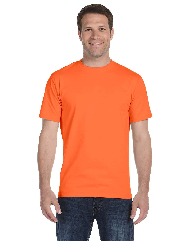 Gildan Adult 5.5 oz., 50/50 T-Shirt ORANGE