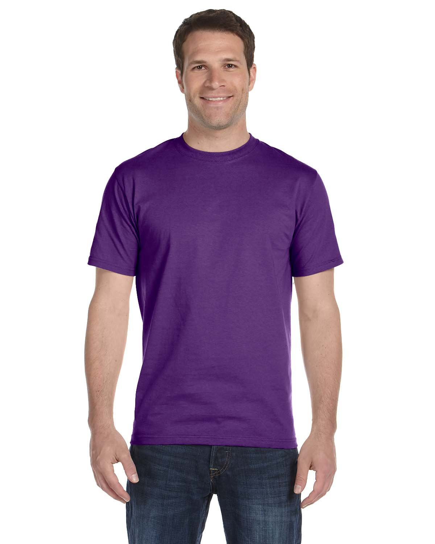 Gildan Adult 5.5 oz., 50/50 T-Shirt PURPLE