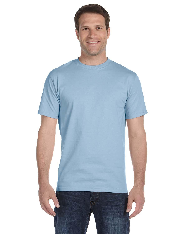 Gildan Adult 5.5 oz., 50/50 T-Shirt LIGHT BLUE