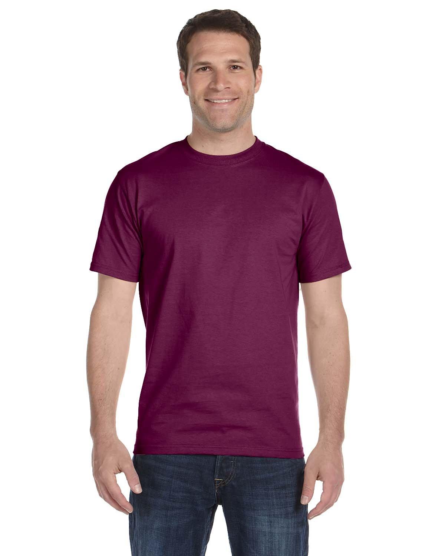 Gildan Adult 5.5 oz., 50/50 T-Shirt MAROON
