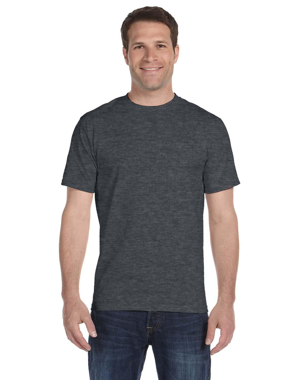 Gildan Adult 5.5 oz., 50/50 T-Shirt DARK HEATHER