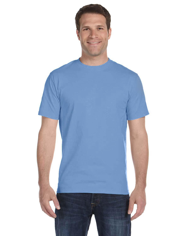 Gildan Adult 5.5 oz., 50/50 T-Shirt CAROLINA BLUE