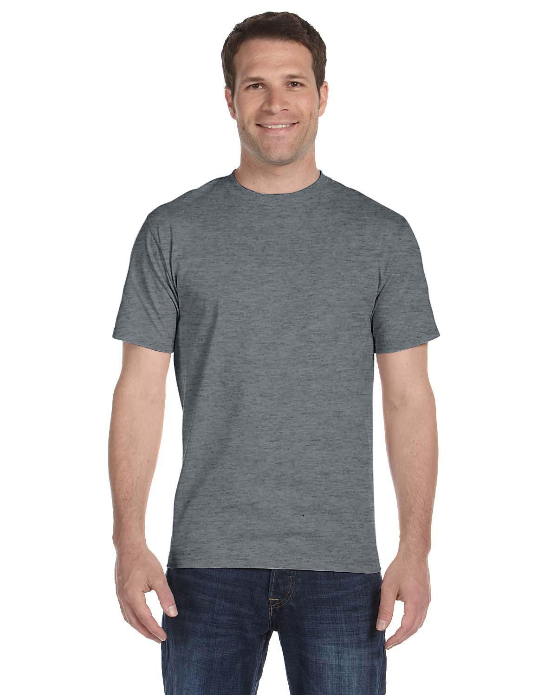 Gildan Adult 5.5 oz., 50/50 T-Shirt GRAPHITE HEATHER