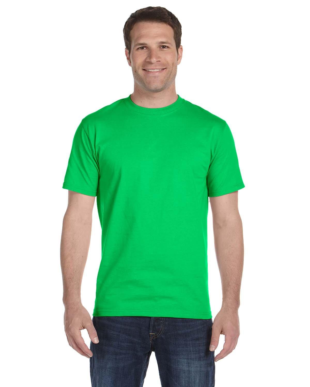 Gildan Adult 5.5 oz., 50/50 T-Shirt ELECTRIC GREEN