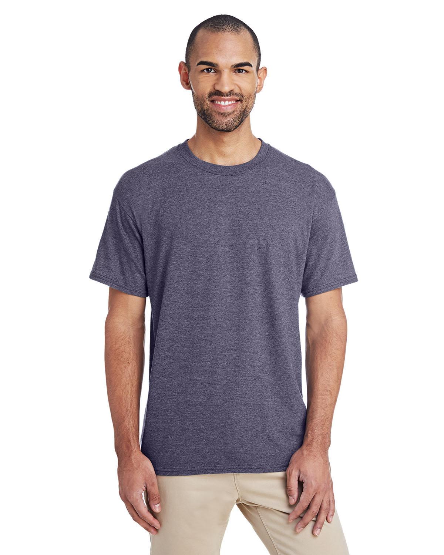 Gildan Adult 5.5 oz., 50/50 T-Shirt HT SPRT DRK NAVY