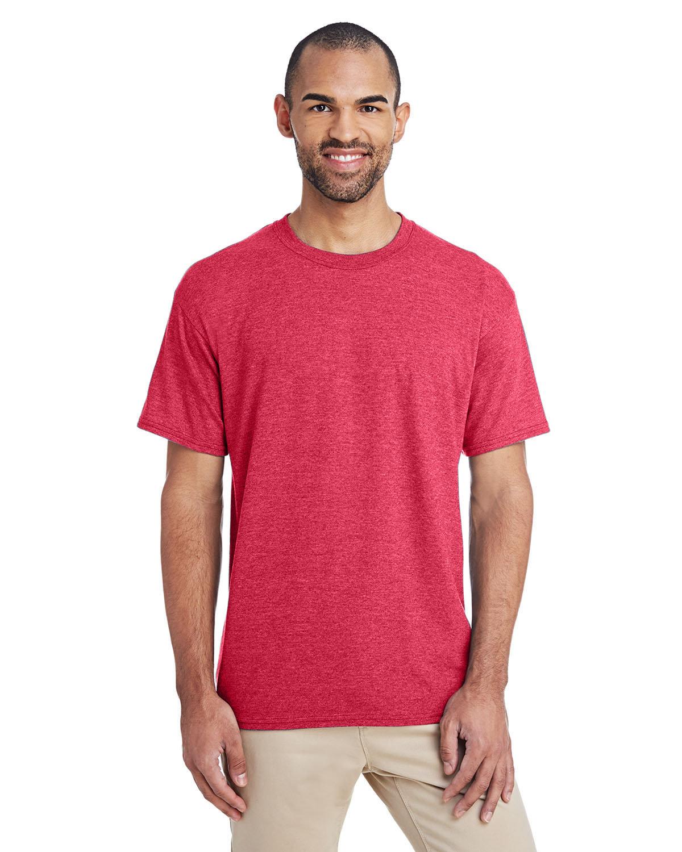 Gildan Adult 5.5 oz., 50/50 T-Shirt HTH SPT SCRLT RD