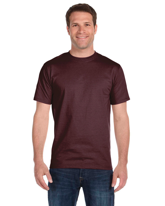 Gildan Adult 5.5 oz., 50/50 T-Shirt SPRT DRK MAROON