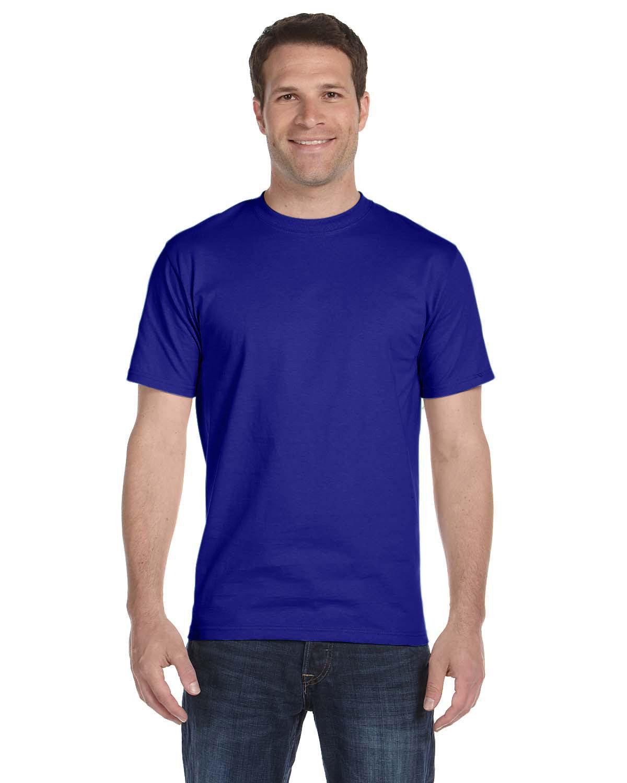 Gildan Adult 5.5 oz., 50/50 T-Shirt SPORT ROYAL