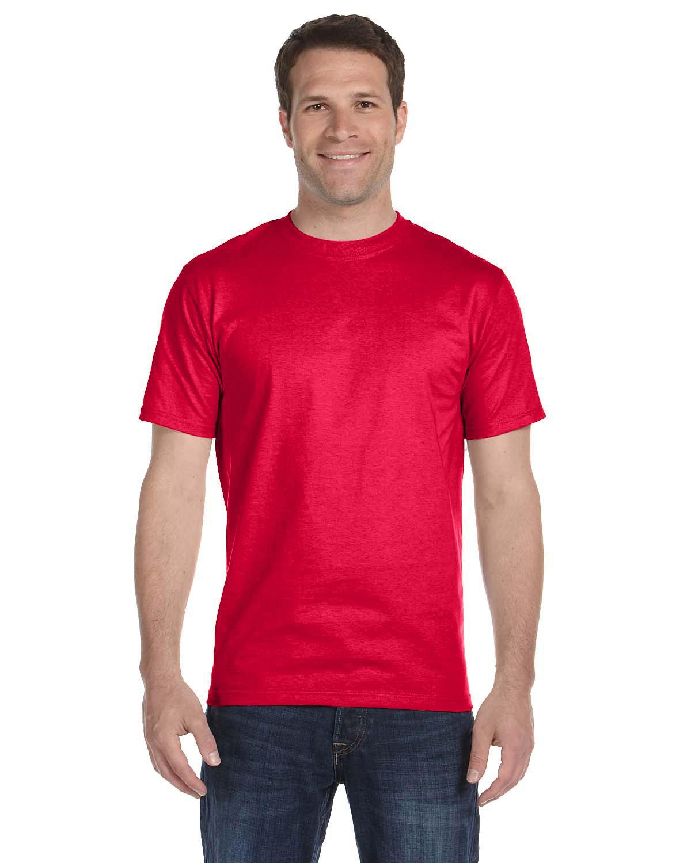 Gildan Adult 5.5 oz., 50/50 T-Shirt SPRT SCARLET RED