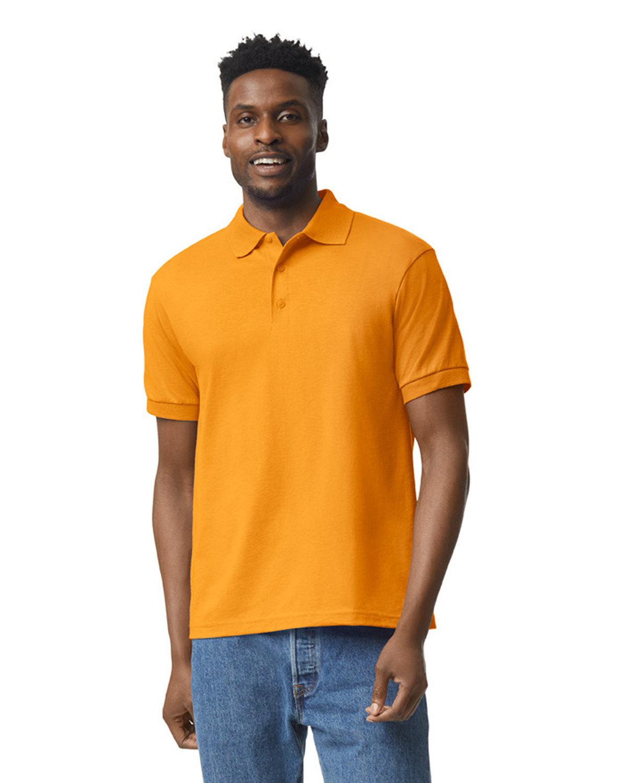 Gildan Adult 50/50 Jersey Polo GOLD